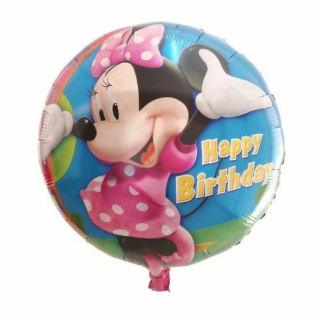 Minnie Happy Birthday  fólia lufi
